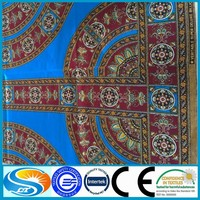 wholesale african batik wax polyester fabric