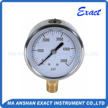 Stainless Steel Body Biogas Pressure Gauge Manometer