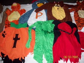 Used Party Costumes