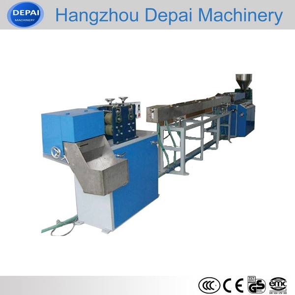 Automatic small plastic pipe extruding machine / straw production line