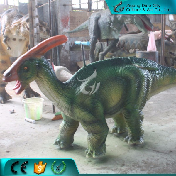 Lifelike Realistic Walking Dinosaur Animal Rider
