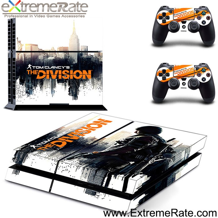 2016 The Division skin decal for PS4 skins controller console GYTM0281