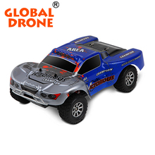 Global Drone WLA969-B 1/18 4WD short remote control toy truck 2.4G 7.4V rc truck toy 70km/h rc construction toy trucks
