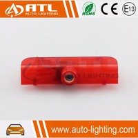 Factory Supply red white projector logo light car ghost shadow light