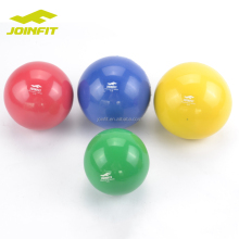Joinfit Soft PVC Iron sand filled small weight ball/ weight balls gym ball
