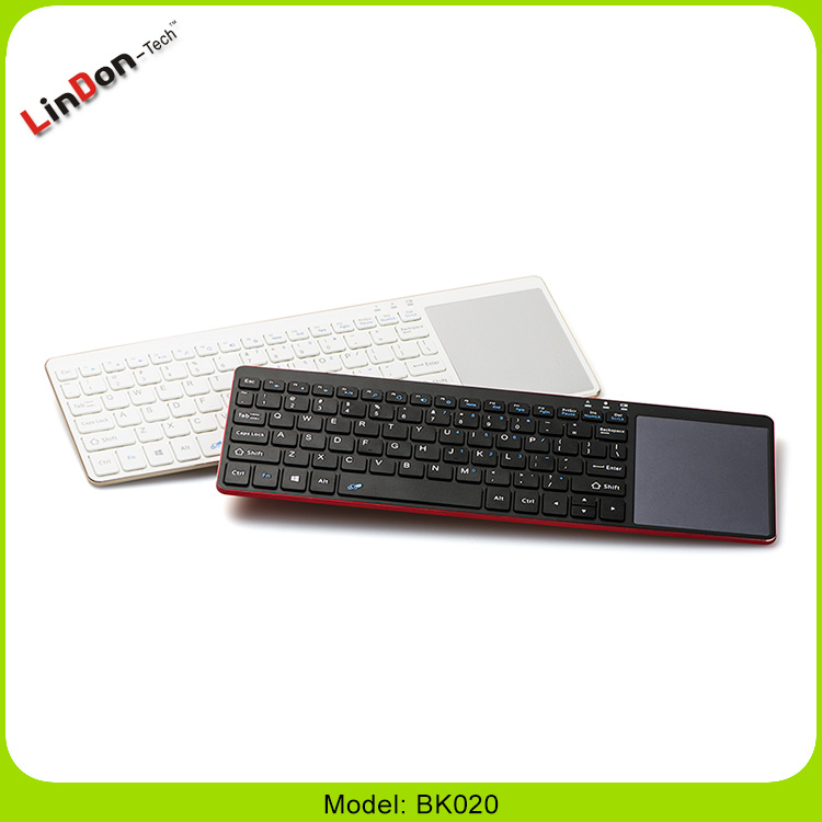 Ultra Slim Bluetooth Wireless Mini Keyboard For Chromecast Tablet PC With Touchpad
