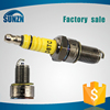 2015 new products new design top quality genuine spark plug for motorcycle