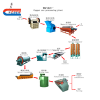 Flotation or Leaching Process Copper Plant