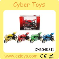 2015 New product hot toy 1:18 metal motorcycle toy diecast motorcycle model car with music for wholesale and promotion