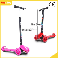 New model Kids series scooter / Factory direct supply three wheel kick scooter with optional color cheap