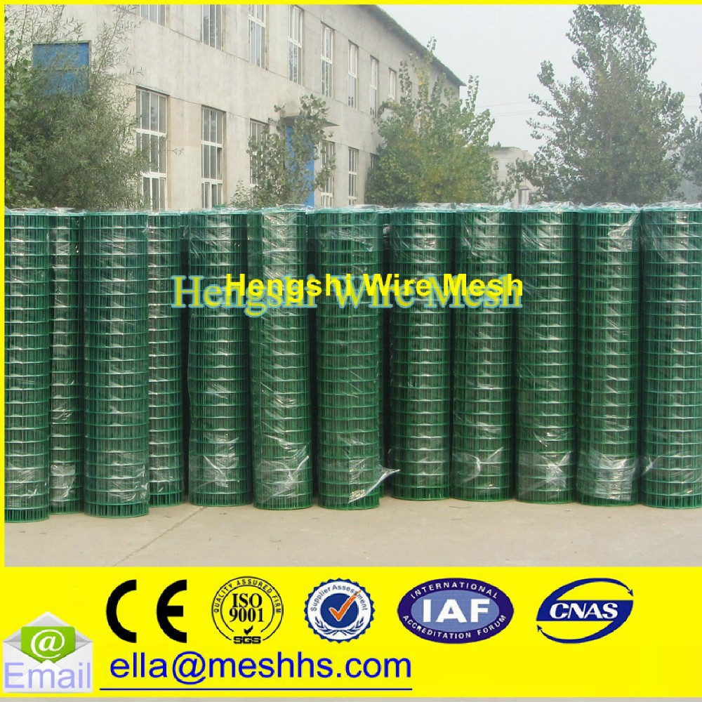 1x1 pvc coated welded wire mesh (factory)