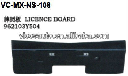 Licence Board For Nissan Maxima 95-00