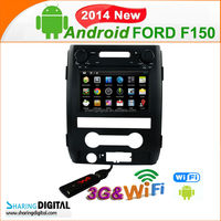 SharingDigital FOD-7303GDA support 3G DVR rear view camera car android dvd for Ford F150 2012 2013