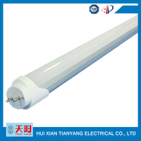 frosted led tube lighting 2835 LED 4ft 22W led t8 clear frosted tube light