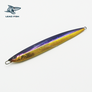 LF107-LEADFISH best selling jig 80g/100g/120g/150g/180g/210g/240g/270g/300gHigh quality Blade lead lure for Bass fishing
