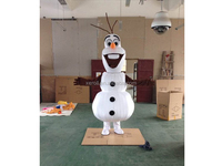 Best seller movie frozen mascot costume adult olaf the snowman