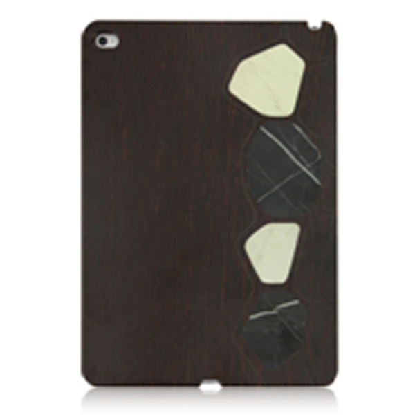 Top Quality For iPad Air 2 Wood+PC +PU Phone Cases