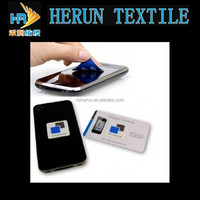 Eco-friendly, factory direct, microfiber mobile phone screen cleaner!