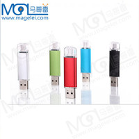 metal case usb otg flash drive /usb pen drive for mobile and computer