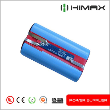 3.7v li-ion 18650 5200mah 1S2P 3.7v icr 18650 li-ion rechargeable battery