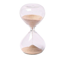 Wholesales glass sand timer 20 minutes made in china