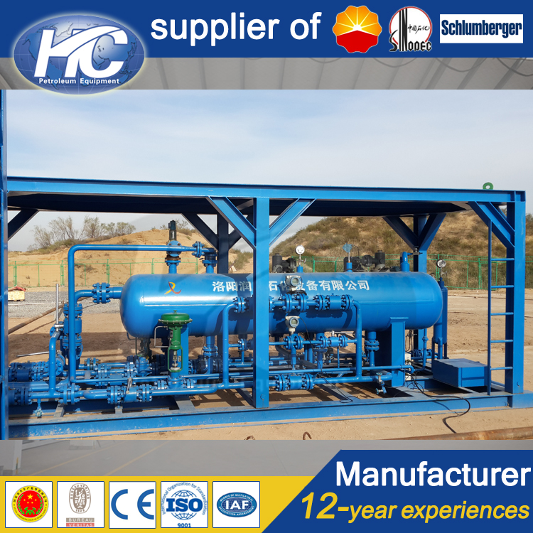 China manufacturer two-phase separator/ oil and gas separator/ gas separator with factory direct price