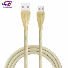 High-end zinc alloy branded cable with Martin design from Shenzhen data line manufacturer Gooda