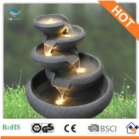 Poly Resin Garden Water Fountain 2013