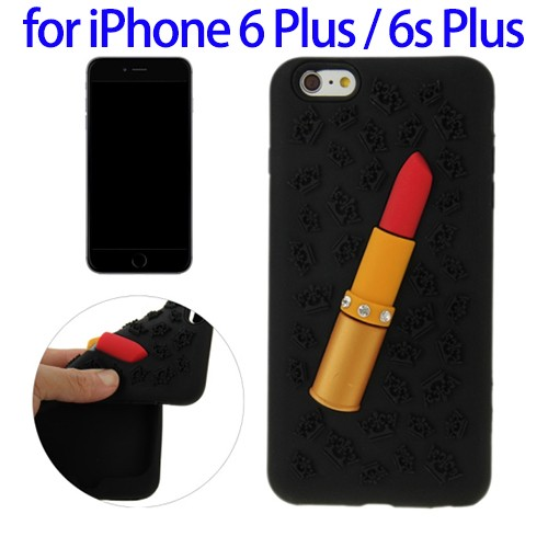 Factory Price Ultra Slim Silicone Case for iPhone 6 Plus, Cell Phone Case for iPhone