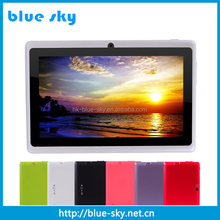 OEM cheap tablets 7 inch quad core IPS1280*800 android 4.4 A33 super smart pad q88 tablet pc
