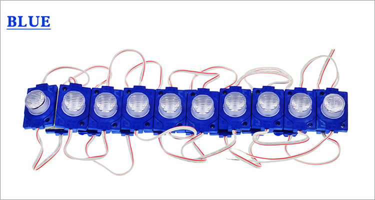 High lumen dc 12v 1 led 1.5w waterproof led module 3030
