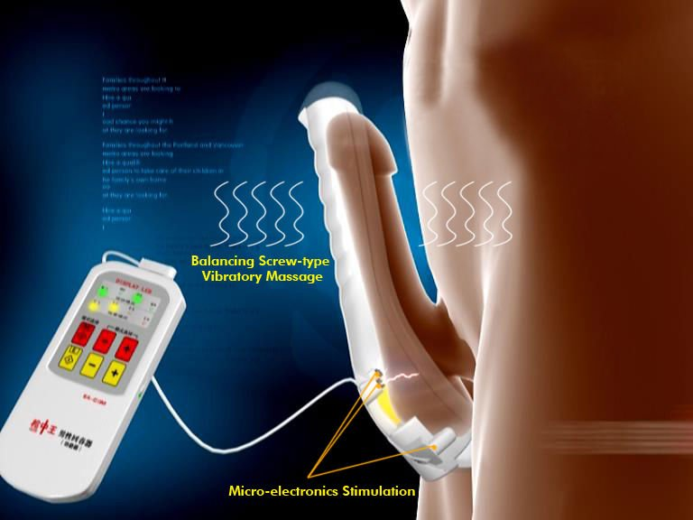 male electronic penis sexual stimulator EA-C13M