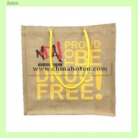 2014 Fashion Jute Hangbag