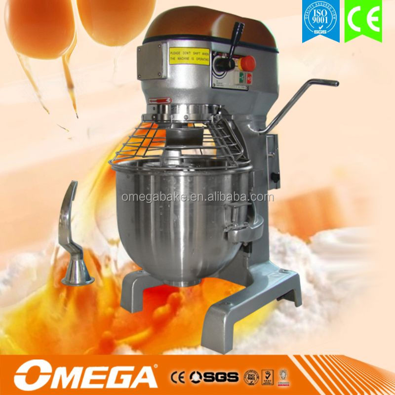 High Quality Low Price Industrial Bakery Planetary Mixer with CE&ISO(Manufacturer)(with Whip Spatula Hook attached)