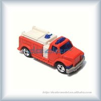 fire engine/model car/color model fire engine