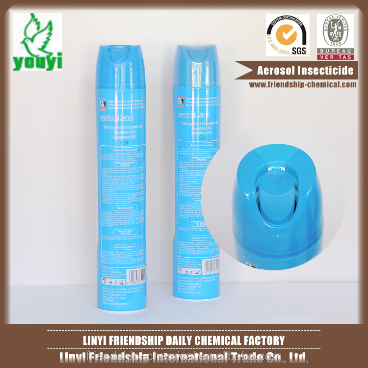 Original export aerosol pyrethrin insecticide spray biological insecticide in china
