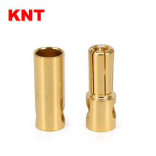 5.5mm Gold Connector Banana Bullet Plug for RC Electric Motor