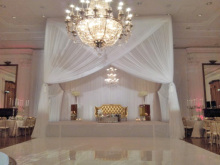 Carpet road wedding oath white pipe and drape tent