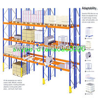 engine selective rack storage house racking system