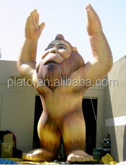 Advertising Custom Inflatable Cartoon,giant inflatable bigfoot