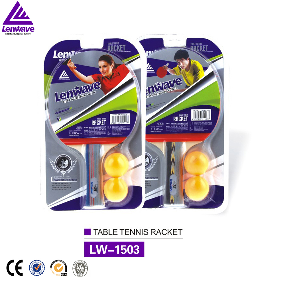 Lenwave Ping Pong racket 3 star long pimples table tennis racket bat