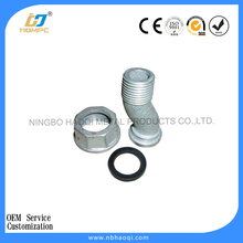 special type forged metal / brass gas meter connector & connection