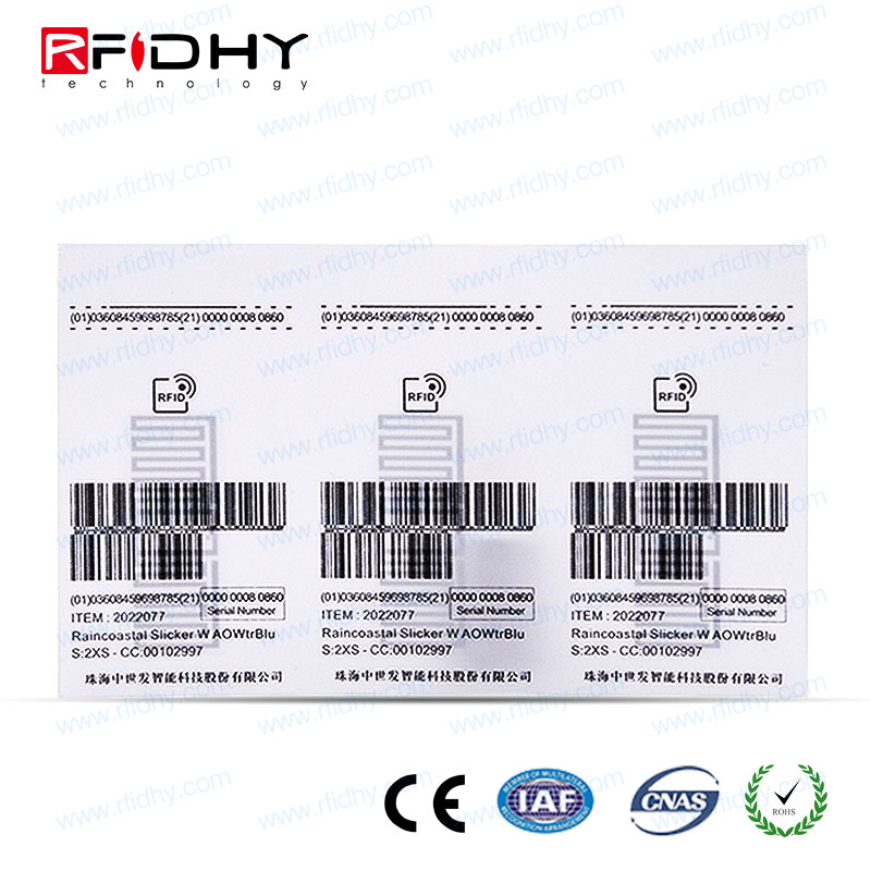 Long Range UHF RFID Cloning Hang Tags for Garment Stores in India