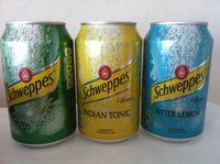 Schweppes Bitter lemon and Tonic