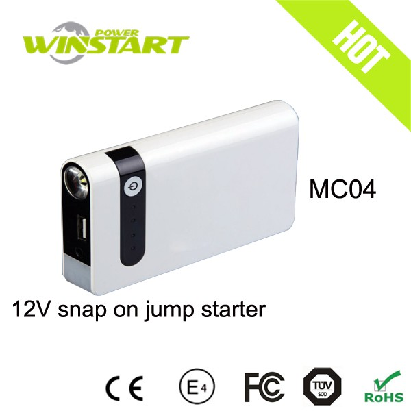 mitsubishi starter jump starter battery booster 12000mah power bank emergency tool diesel&gasoline truck and car