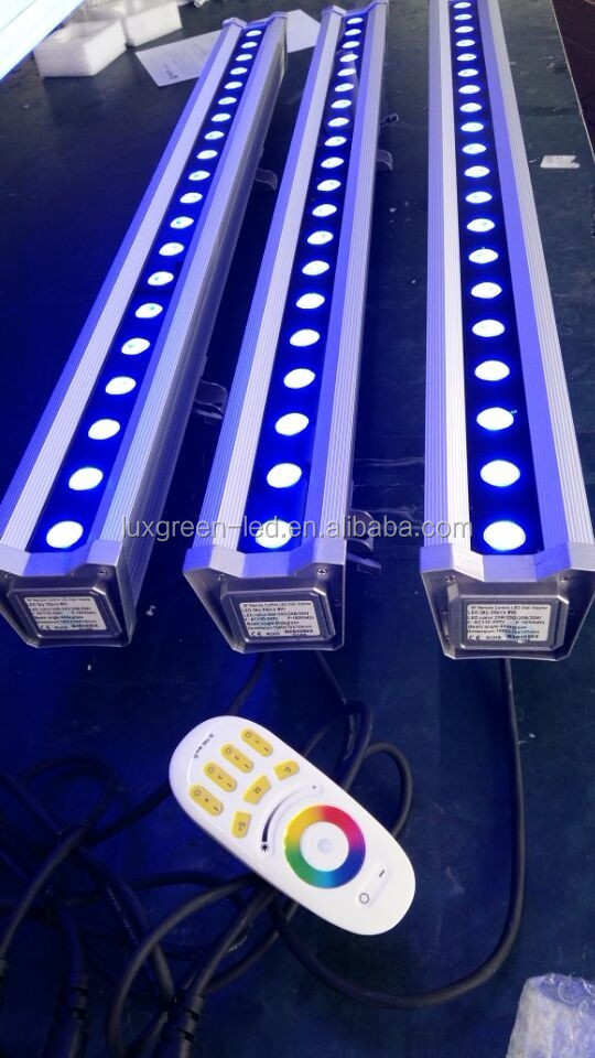 New 100 cm outdoor 20X8w 4 in 1 RGBW DMX 512 LED Wall Washer Light