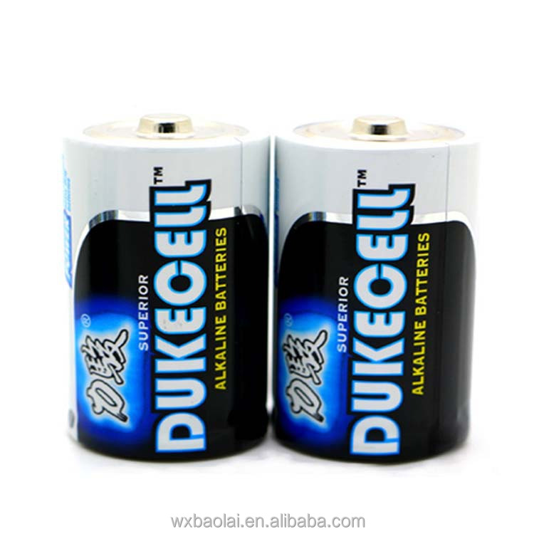 Super Alkaline Battery Dry Cell Battery D size