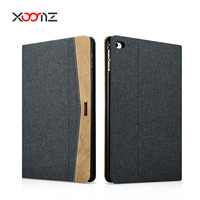 XOOMZ Custom Logo Fabric Folio Case for iPad Mini 4