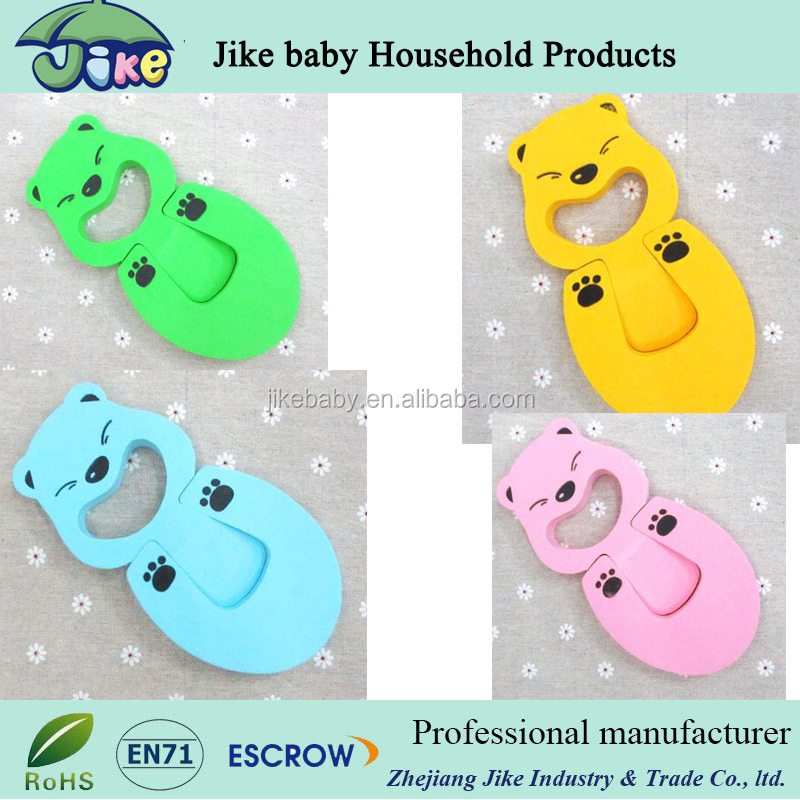 Baby safety Finger Hand Safety Door Stop Guard Cushion foam EVA bear door holders