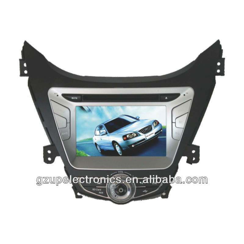all in one 7 inch special double din car DVD player for Hyundai elantra 2011 with GPS BT TV steering wheel control